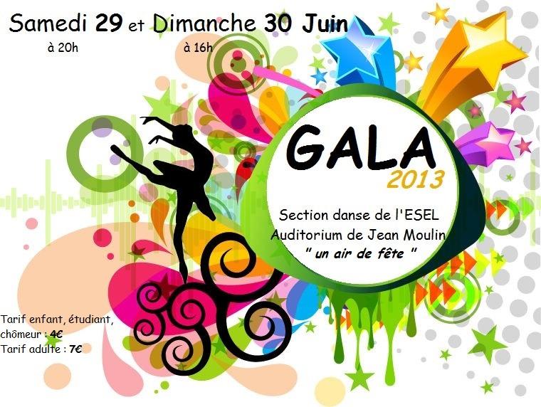 gala danse 2013