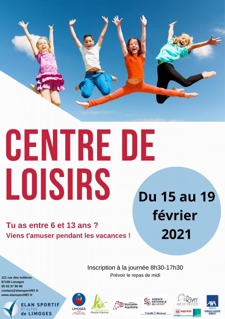 CENTRE DE LOISIRS_février 2021