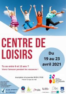 CENTRE DE LOISIRS_Affiche